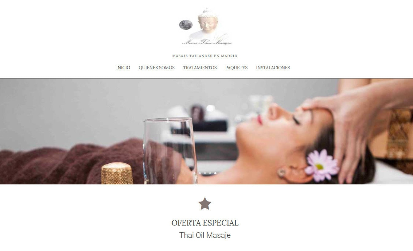 pagina web masajes thai
