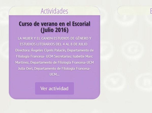 pagina para universidad Madrid