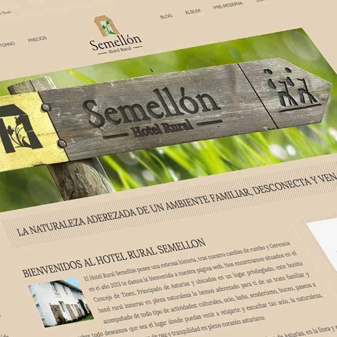Creación de la página web para casa rural