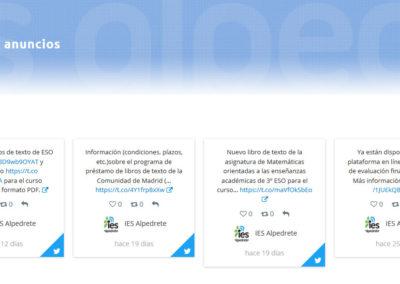 pagina web para colegio Diseño paginas web