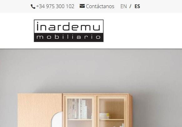 Diseño de páginas web para empresas de mobiliario y fábrica de muebles