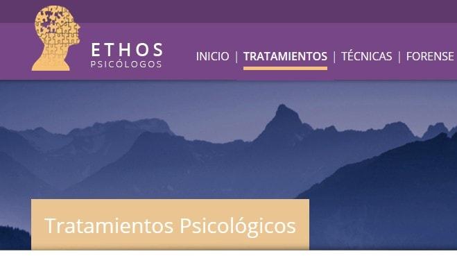 Rediseño de web para psicólogos en Madrid gabinete de psicología madrileño
