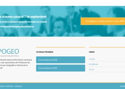 Pagina Web Preparador Oposiciones