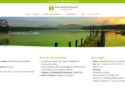 Pagina Web Psicologia Recacha