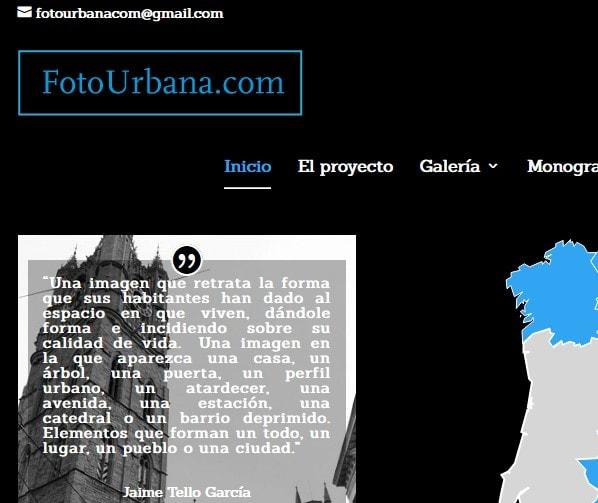 Diseño de página web para directorio de reportajes fotográficos y archivo de pueblos de España