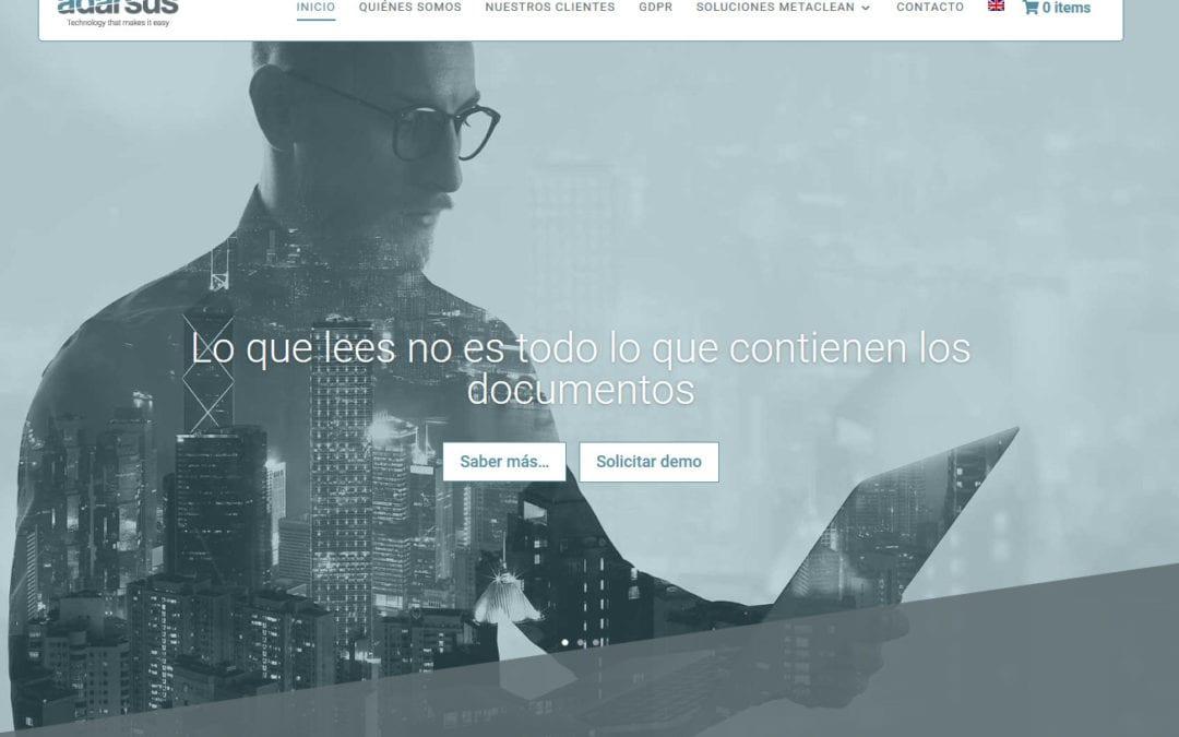 Diseño web para empresa de desarrollo de software informático