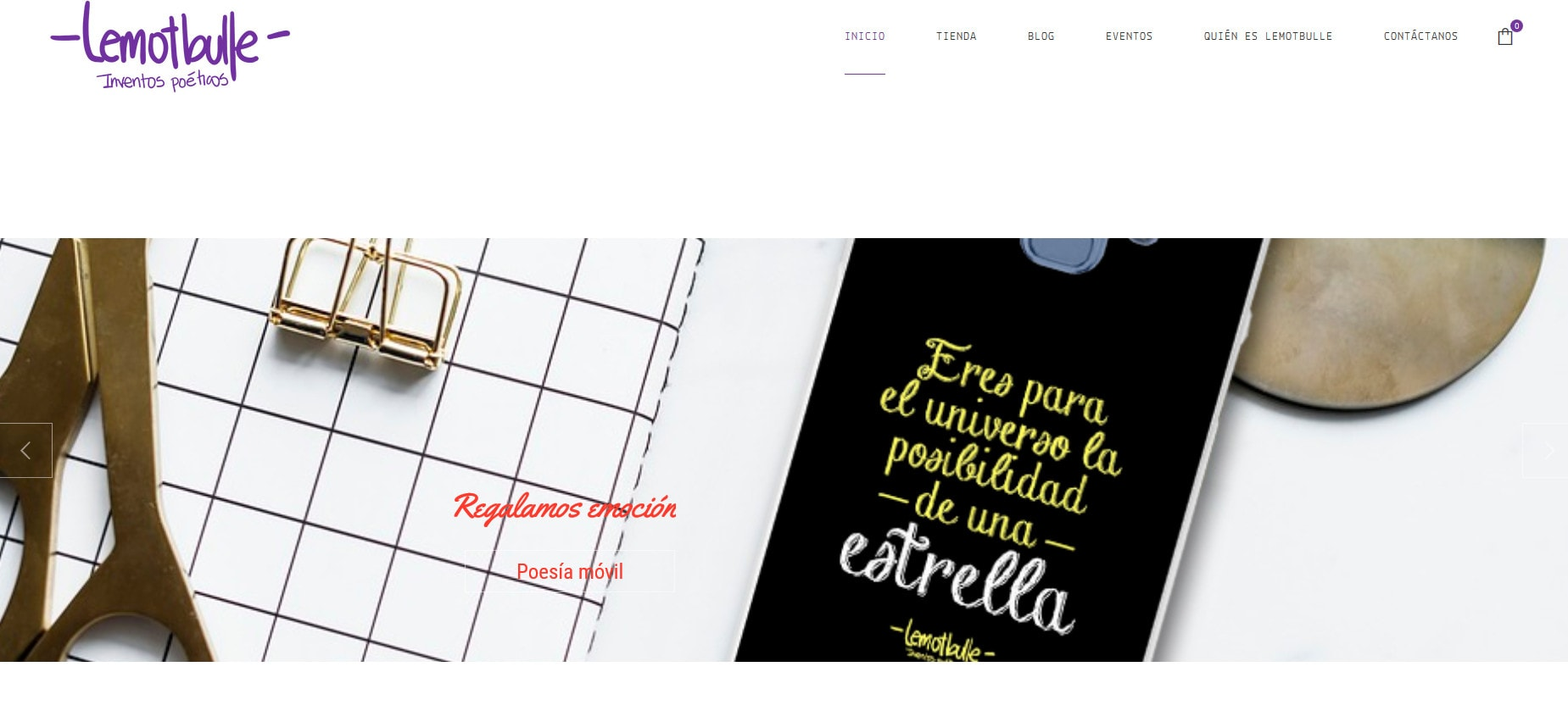 Pagina Web Tienda Merchandising