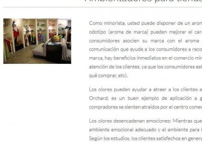 pagina web tiendas perfumes perfumeria Diseño paginas web