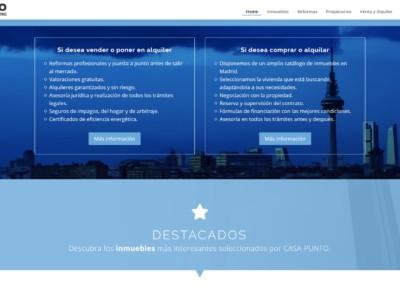 Pagina Web Venta Alquiler Madrid