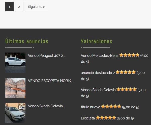 pagina web venta online