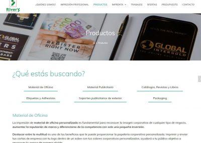 Pagina Web Artes Graficas