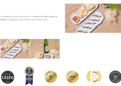 Pagina Web Restaurante Familiar Madrid