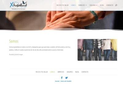 Pagina Sevicios Seguros Diseno Web