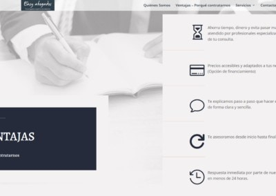 pagina web abogados ventajas disenadores Diseño paginas web