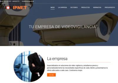 Pagina Web Camaras Videovigilancia