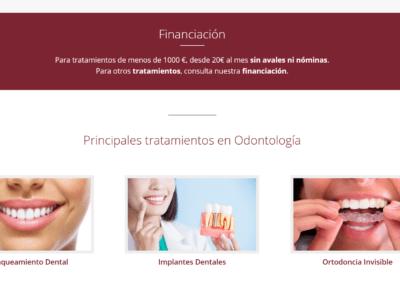 pagina web clinica medicina estetica Diseño paginas web