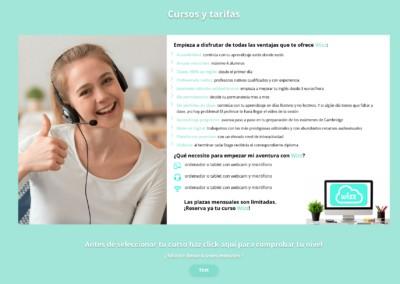 Pagina Web Cursos Ninos Online Ingles