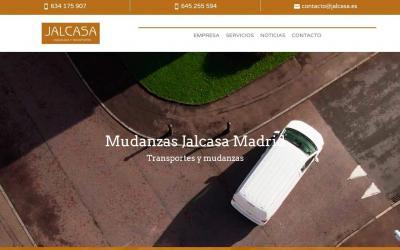 Creación pagina web para empresa de Mudanzas