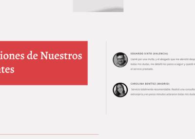 pagina web equipo abogados Diseño paginas web