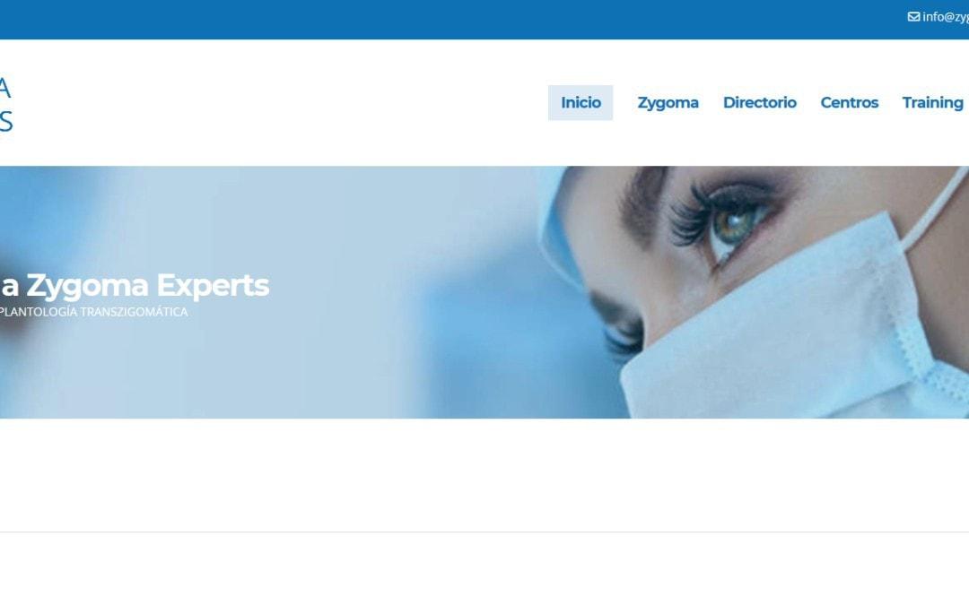 Diseño web WordPress a medida para portal directorio profesional de especialistas odontólogos.