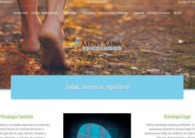 Pagina Web Psicologia Madrid