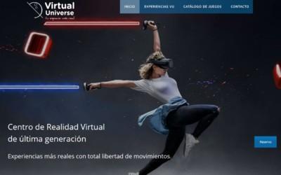Nuevo diseño web para empresa de ocio local sobre juegos y Realidad Virtual