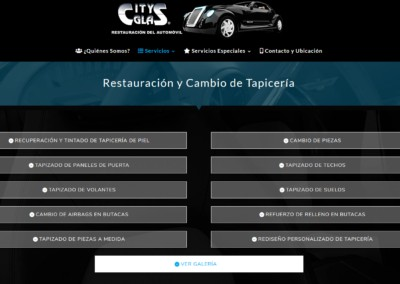 Pagina Web Restauracion Automovil Madrid