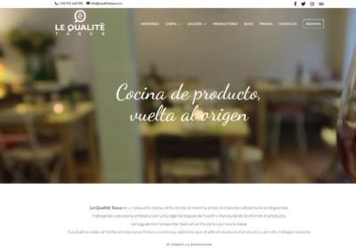 pagina web restaurante madrid Diseño paginas web