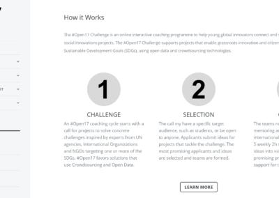 pagina web science solution Diseño paginas web