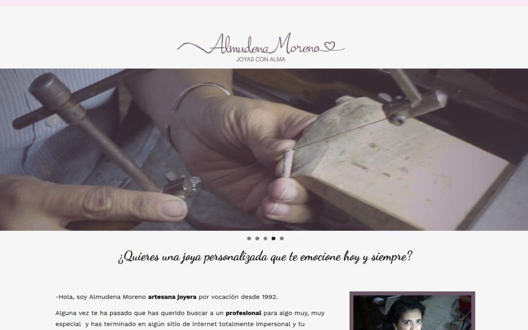 Diseño de pagina web para taller de Joyería