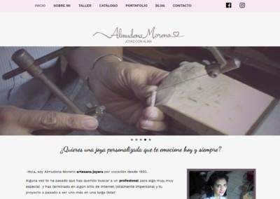 pagina web taller joyeria madrid Diseño paginas web