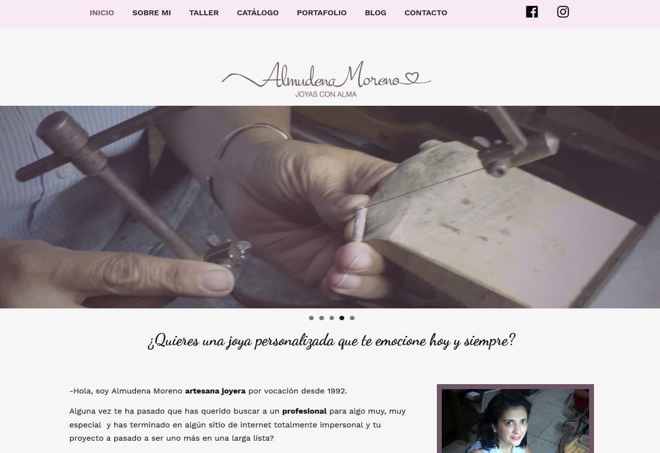 Pagina Web Taller Joyeria Madrid