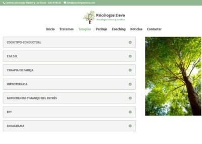 Pagina Web Terapias Psicologicas