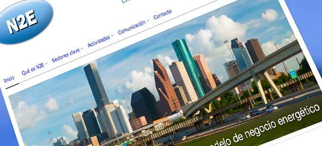 diseño web energia empresas