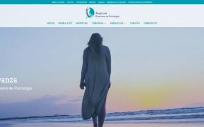 Diseño de página web para psicólogos clínica centro, web para despacho de psicólogo en Madrid.
