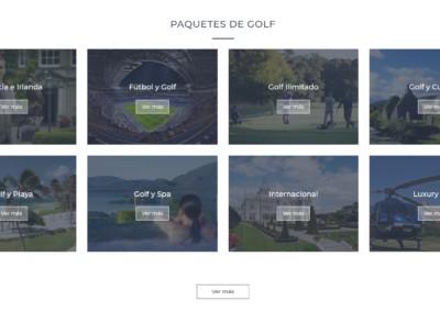 Paquetes Golf Personalizados Disenadores Web