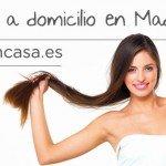 Diseño de imagen de cabecera de Facebook peluquería a domicilio