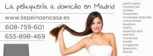 peluqueria domicilio madrid