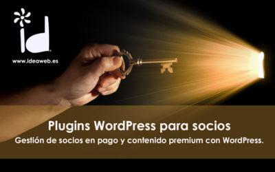 WordPress. Plugins para gestionar y cobrar acceso a miembros, clientes y socios. Membresías de pago en tu web.
