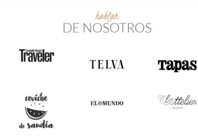 pagina web para restaurante