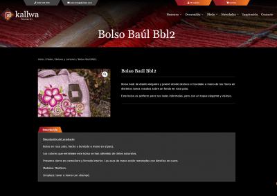 Producto Artesano Web Diseno