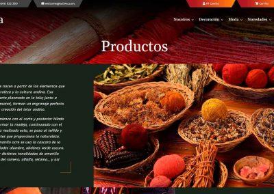 Productos A Mano Diseno Web