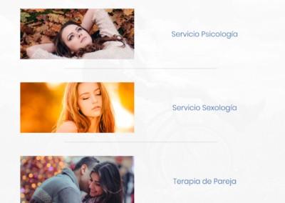 diseño web sexologia