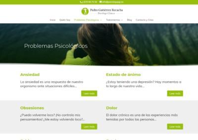 Psicologo Pedro Gutierrez Recacha Web