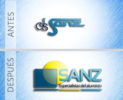 Ejemplo renovación Logotipo de empresa, rediseño.