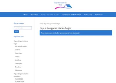 Repuestos Online Web Reparaciones