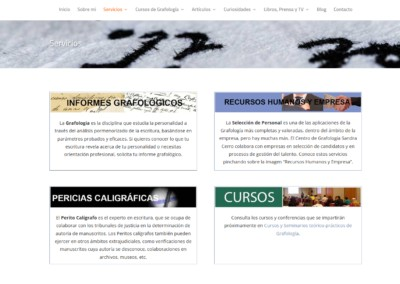 Servicios Grafologia Rrhh Madrid Web