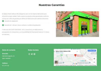servicios oftalmologia vallecas villa Diseño paginas web