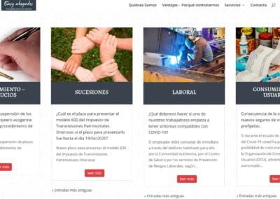servicios abogados web madrid Diseño paginas web