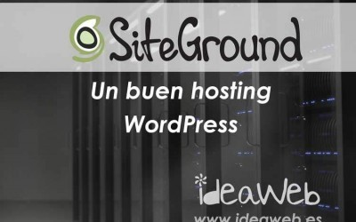¿Cual es el mejor hosting WordPress?. Opinión Siteground. Un buen alojamiento web para WordPress.